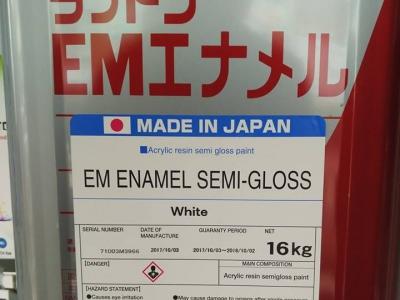 Sơn nội thất, ngoại thất bán bóng gốc nhựa acrylic EM ENAMEL SEMI - GLOSS